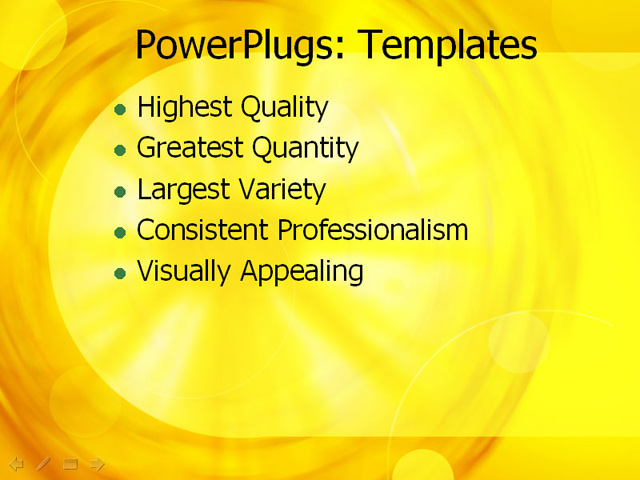 Wheel Powerpoint Template Ppt Template Yellow Wheel