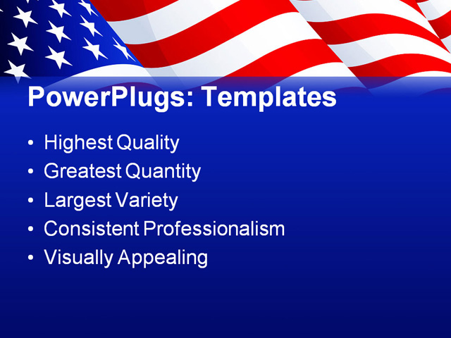 American flag powerpoint template mandegarfo american flag powerpoint template toneelgroepblik Choice Image