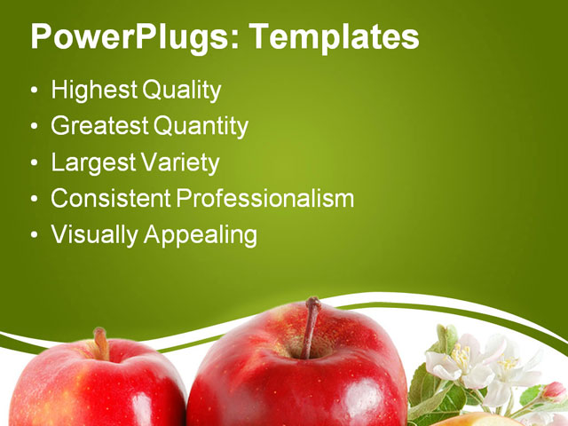 Background Ppt Apple Ppt Template Apple