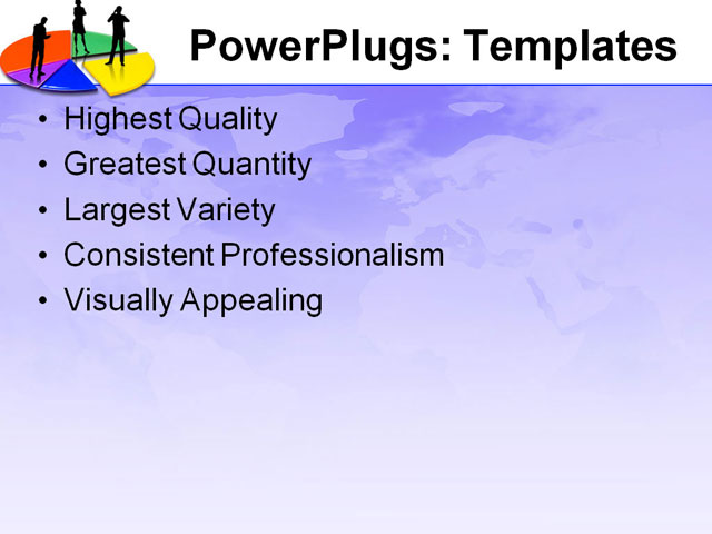 PPT Template - aid, chart, circle - Text Slide