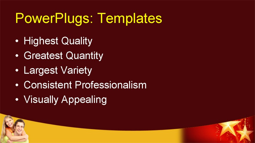happy holiday powerpoint template
