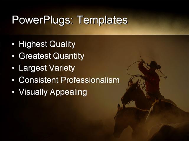 Western theme powerpoint template free toneelgroepblik Image collections