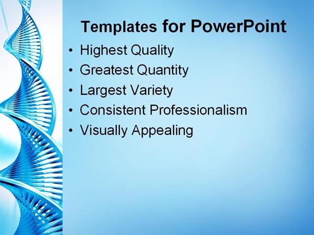 best powerpoint template dna strand background about blue health dna dna305. Black Bedroom Furniture Sets. Home Design Ideas