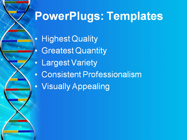 free download dna powerpoint template