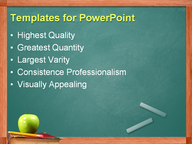 writing on powerpoint slides