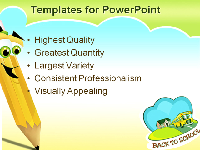 Powerpoint Template Games For Education