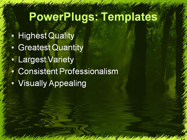 Jungle forest presentation template for powerpoint and free river school toneelgroepblik Choice Image