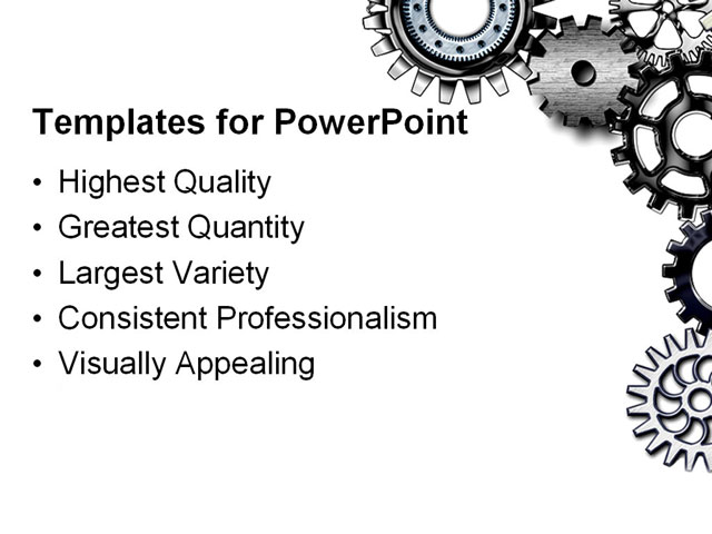 Wheel Powerpoint Template Powerpoint Template Gears