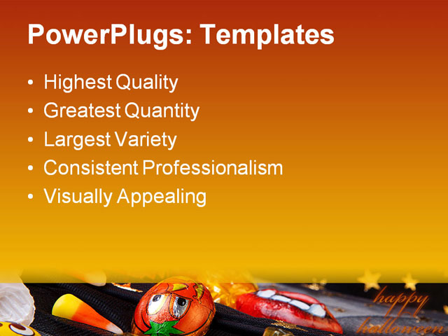Halloween Candy Powerpoint Template Images Free Download