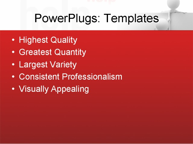 PPT Template - business, people, communication - Text Slide