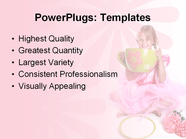 PPT Template - adorable, background, barbie - Text Slide