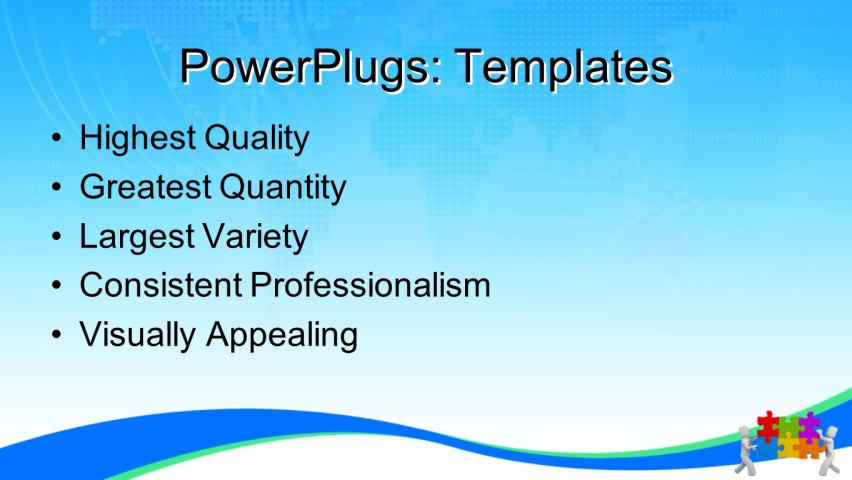 PPT Template - business, people, metaphor - Text Slide