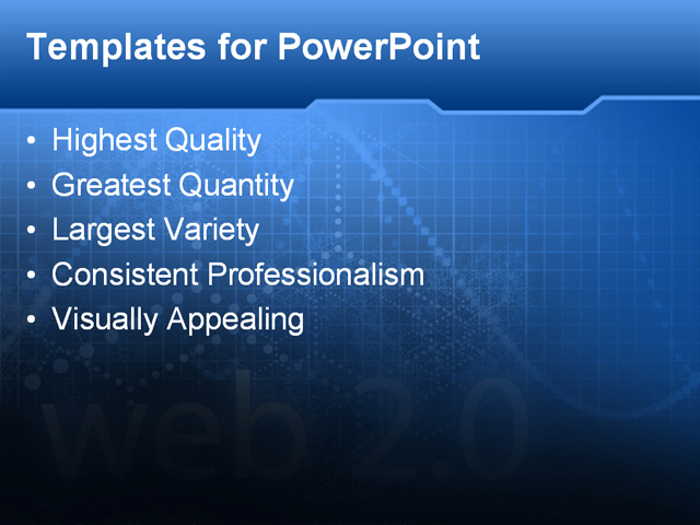 technical powerpoint template